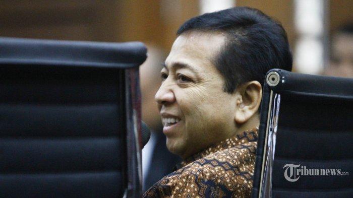 Ternyata Ini Alasan Novanto Tak Ajukan Banding Atas Vonis 15 Tahun Penjara Dalam Kasus e-KTP