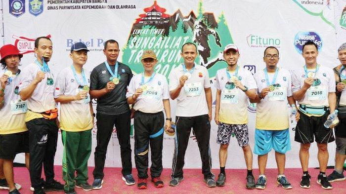Bupati Bangka Terdaftar 'Finisher Trail Run'