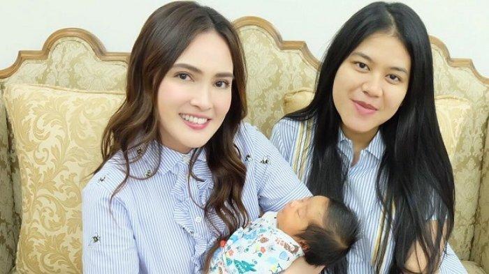 Shandy Aulia Gendong Bayi Kahiyang, Penampilan Kahiyang Ayu Usai Melahirkan Malah Jadi Sarotan
