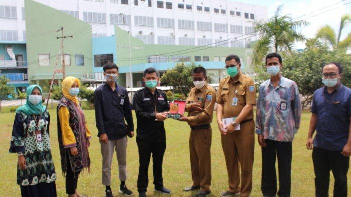 Ombudsman Serahkan Piagam Apresiasi ke Satgas Penanganan Covid-19 dan RSUP Bangka Belitung