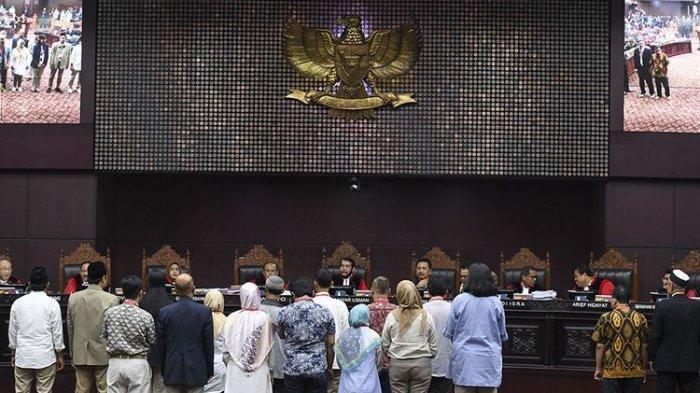 Update Sidang MK Pilpres 2019, RPH Digelar Hari Ini untuk Bahas Gugatan Prabowo-Sandi