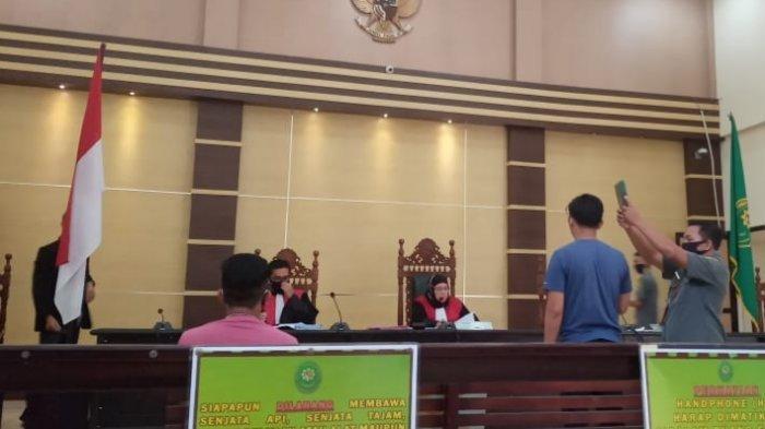 Plafon di Kontrakan Banyak Bolong, Anggota Polda Bangka Belitung Ini Temukan 5,581 Gram Sabu