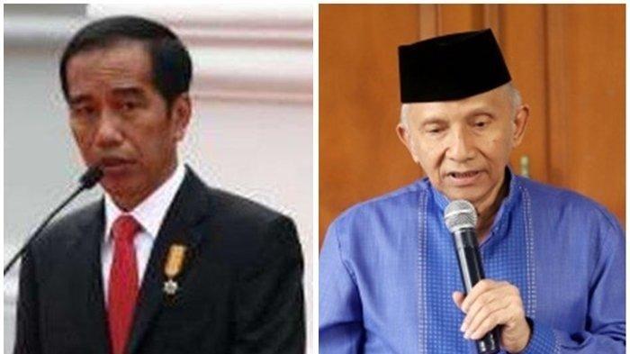 Curiga Rezim Presiden Jokowi Ubah Pasal, Agar Bisa 3 Periode, Amien Rais : Ini Sangat Berbahaya