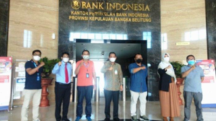 Sambangi Bank Indonesia, Bangka Pos Group Buka Diri Siap Terima Kritikan