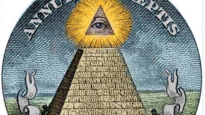 Apa Itu Illuminati, Simbol Segitiga Mata Satu yang Dijadikan Tato Artis , Benarkah Pemuja Setan?