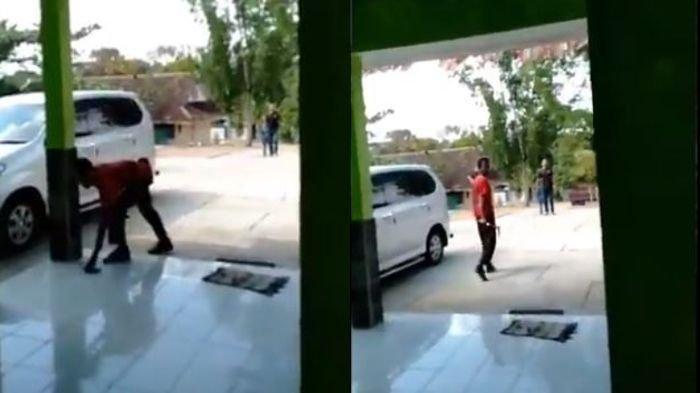 Memalukan! Siswa Ini Bawa Celurid Mengancam Gurunya Hanya Gara-gara Handphone Disita