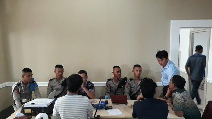 Sebanyak 49 Siswa SPN Lubuk Bunter Latihan Kerja di Polres Pangkalpinang