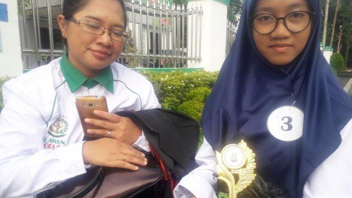 Siswi SMP 3 Ini Bangga Berhasil Raih Juara Pidato Anti Korupsi
