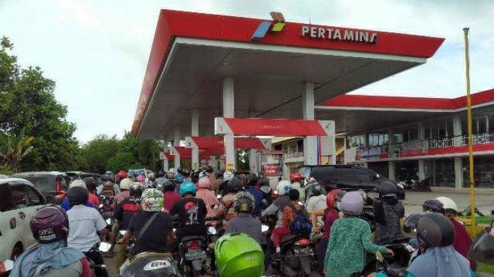 Operasi Patuh Sasar Pengantre BBM di Belitung Timur