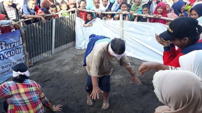 Rayakan 17 Agustus, Warga Kavling Arung Dalam Koba Gelar Bermacam Lomba