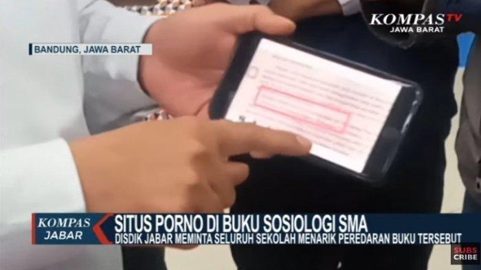 HEBOH, di Jawa Barat Ditemukan Situs Porno di Buku Pelajaran Sosiologi, Rujukan dari Komik Ini