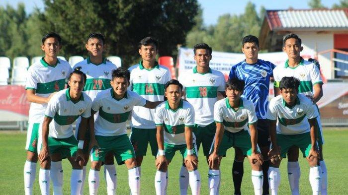 Hasil Babak Pertama Timnas U19 Indonesia vs Qatar, Skor Kacamata Walau Tampil Agresif
