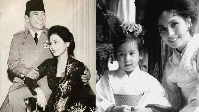 Kisah Pilu Anak Soekarno dari Ratna Sari Dewi, Sang Ayah Meninggal di Hari Pertama Bertemu