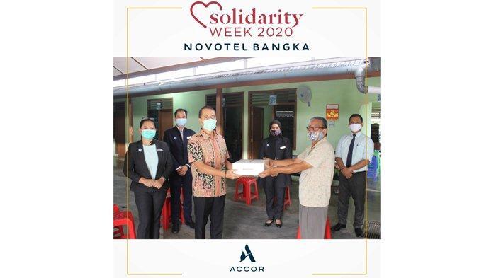 Solidarity Week 2020 Novotel Bangka Rayakan 10 Tahun Bersama Panti Jompo Wisma Emaus