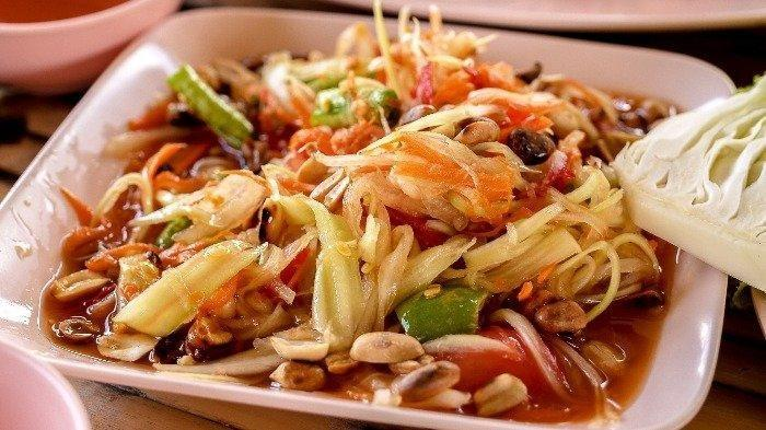 Ini Kuliner-kuliner Kaki Lima Terbaik di Pattaya Thailand, dari Khao Gaeng,  hingga Kai Jeow