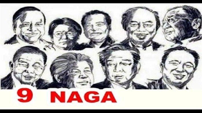 Sosok dan Asal-usul Nama 9 Naga Penguasa Ekonomi Indonesia, Siapa Mereka?