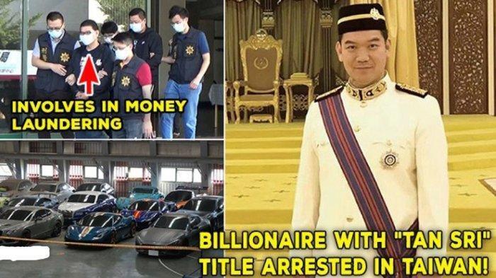 Raja Judi Online Asia Bergelar Tan Sri dari Raja Malaysia ini Diciduk, 13 Mobil Mewahnya Disita