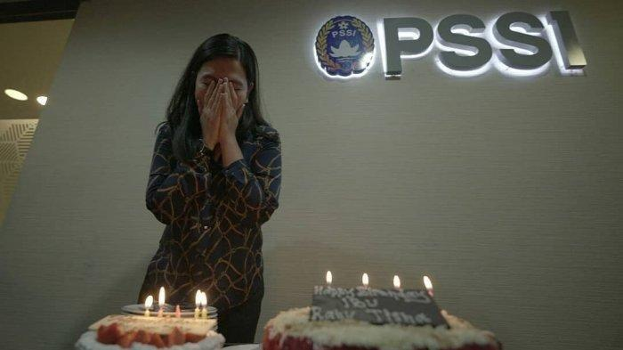MENGENAL Sosok Ratu Tisha, Mulai dari Karier, Kinerja Sebelum Mundur Sebagai Sekjen PSSI