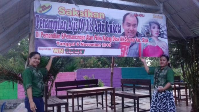 Yuk Datang, Ada Aziz OVJ dan Karina di Pulau Kulong Selumar Besok