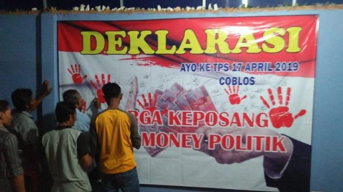 Panwascam Airgegas Mengaku Terima Laporan Dugaan Money Politic di Desa Sidoarjo