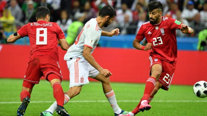 Wasit Anulir Gol Iran, Spanyol Ikuti Jejak Portugal Kuasai Klasemen Grup B