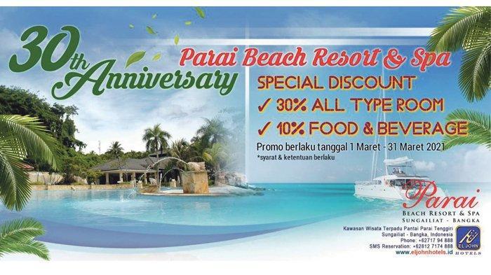 Special Discount 30th Anniversarry Parai Beach Resort & Spa
