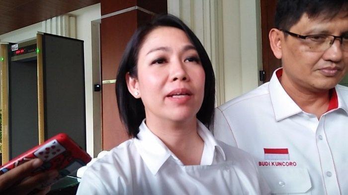 Staf Khusus Presiden RI Joko Widodo Bidang Hukum, Dini Shanti Purwono, di Kantor Kementerian Koordinator Bidang Politik Hukum dan Keamanan (Kemenko Polhukam) Jakarta Pusat pada Rabu (4/12/2019).