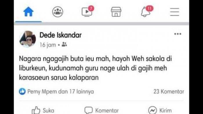 HINA Guru di Media Sosial, Pria Ini Coba Klarifikasi Namun Berujung Ricuh