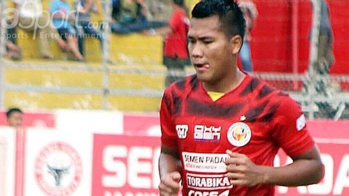 Striker Semen Padang Riski Novriansyah Hijrah ke Babel United FC, Pulang Kampung Ditawari Jadi PNS