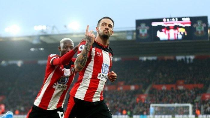 Berita Hasil Lengkap Liga Inggris, Southampton Duduki Puncak Klasemen Menggeser Liverpool