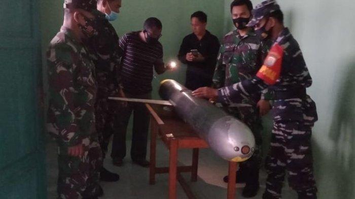 BENDA Mirip Rudal Berkamera Ditemukan Warga, Begini Komentar TNI