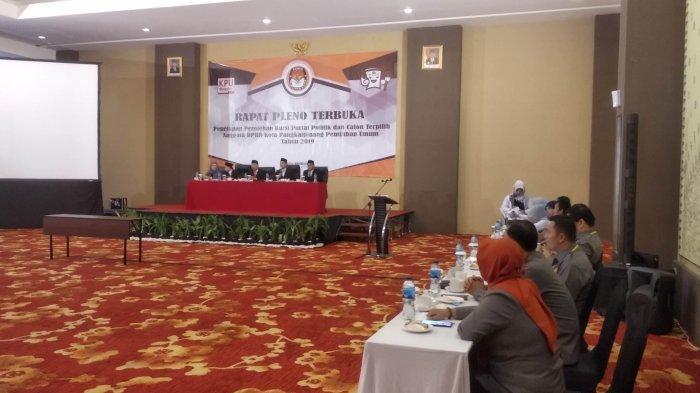 Rapat Pleno Terbuka Selesai, KPU Kota Pangkalpinang Akan Kirim SK Ke Sekretaris Dewan