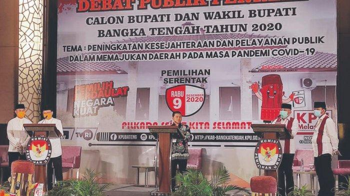 KPU Gelar Debat Publik Calon Bupati dan Wakil Bupati Bangka Tengah