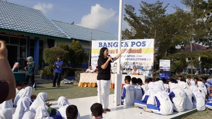 Kepala Sekolah SMAN 3 Pangkalpinang Ingin Hasil Karya Anak-anak Jadikan Buku