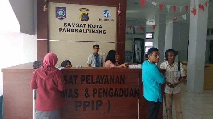 Kejar Target 2018, Ini Trik UPT Samsat Layani Wajib Pajak
