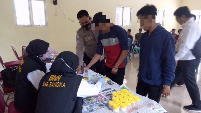 Pasca Rehabilitasi, 20 Pemuda Desa Jada Bahrin Dites Urine, Begini Hasilnya