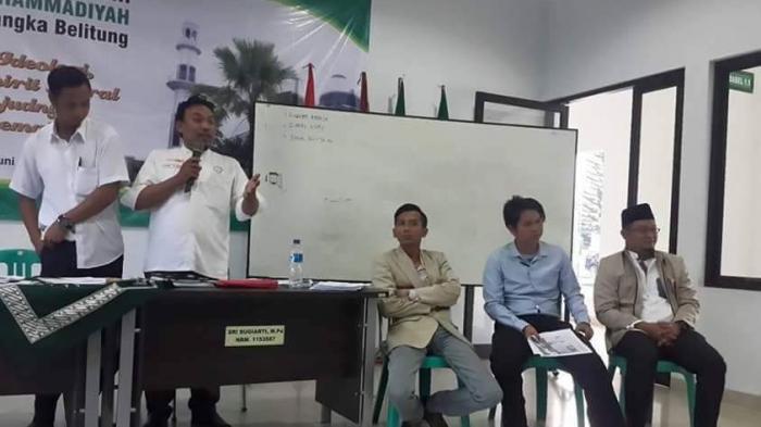 Sekjen PP Muhammadiyah Lantik PW Pemuda Muhammadiyah Babel