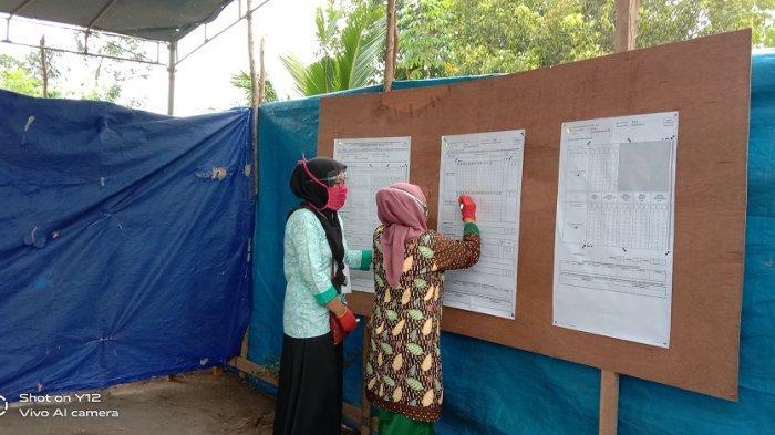 Hasil Pilkada Bangka Tengah 2020, Didit Srigusjaya-H Korari Suwondo Unggul di TPS Didit Mencoblos