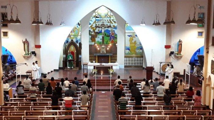 Polsek Merawang Amankan Kegiatan Ibadah di Gereja