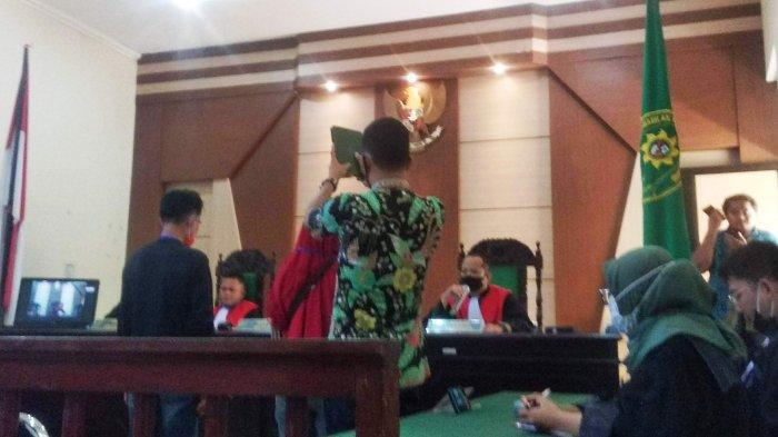 Sidang Dugaan Tindak Pidana Pertambangan Mineral dan Batu Bara, Marjuki Dituntut 7 Bulan Penjara