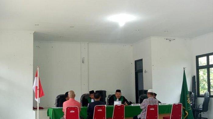 Jemput Bola, Hakim Pengadilan Agama (PA) Sungailiat Bersidang di Kantor Air Gegas
