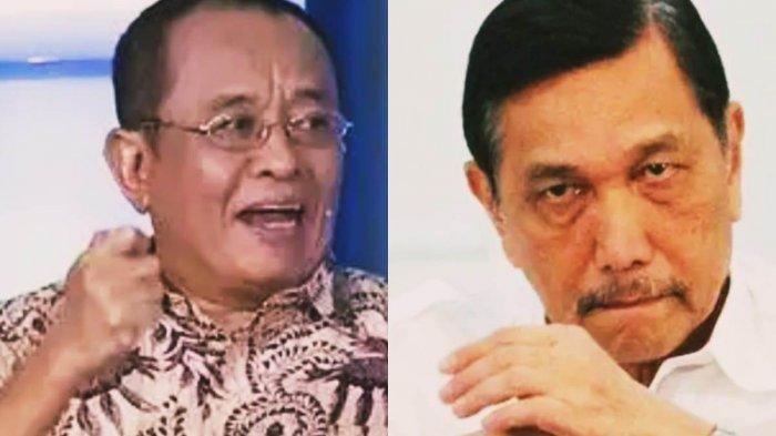 Sudah Klarifikasi, Alasan Luhut Pandjaitan Tetap Tuntut Said Didu ke Jalur Hukum Jodi: Rada Dungu