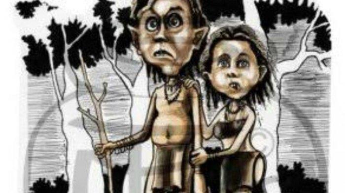 Kisah Nyata Veteran Perang Bertemu Suku Mante: Tumit di Depan, Larinya Kencang