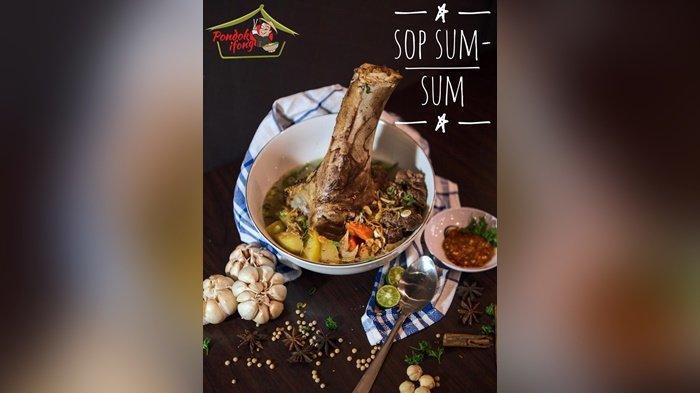 Kangen Kuliner Khas Bangka di Jakarta, Yuk Mampir ke Resto Pondok Ifong Rasakan Kelezatannya - sup-tulang1.jpg