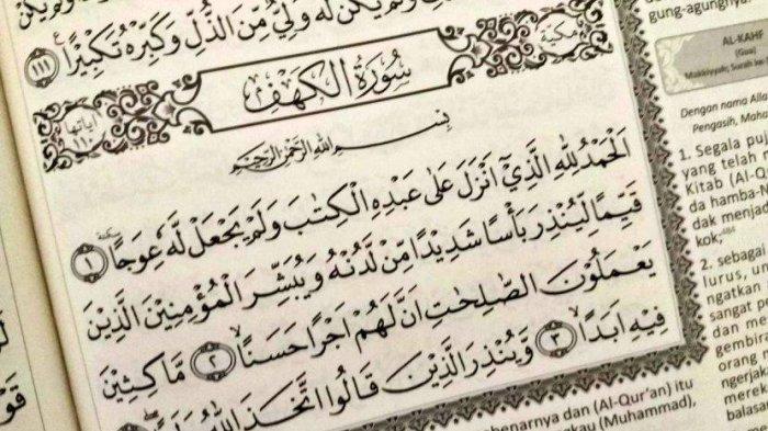 Surah Al Kahfi Ayat 1 - 10, Inilah 4 Keistimewaan Dibaca di Hari Jumat