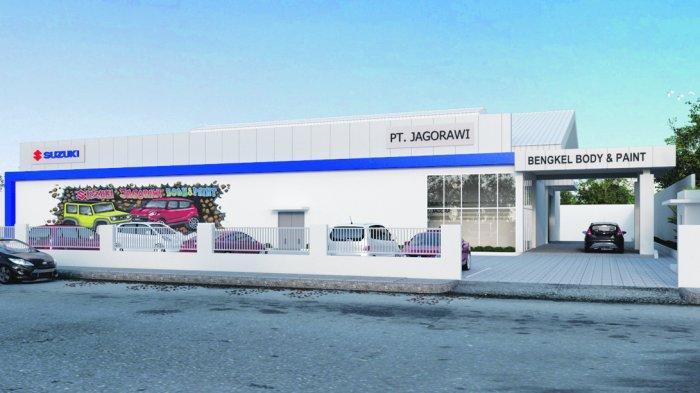 Suzuki Bengkel Body & Paint Kini Hadir di Bangka Belitung