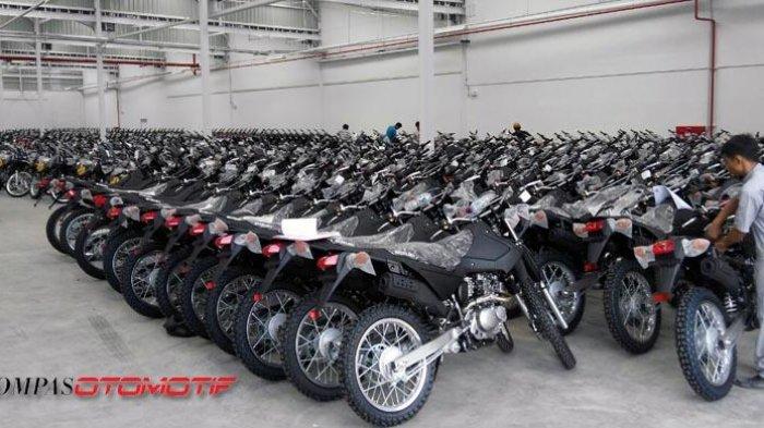 Suzuki DR 200 S Gantikan KLX Sebagai Motor Operasional Polri
