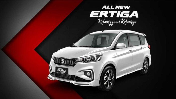 Suzuki All New Ertiga Mobil Nyaman dan Irit Bahan Bakar, Market Share Nomor 1 di Bangka Belitung