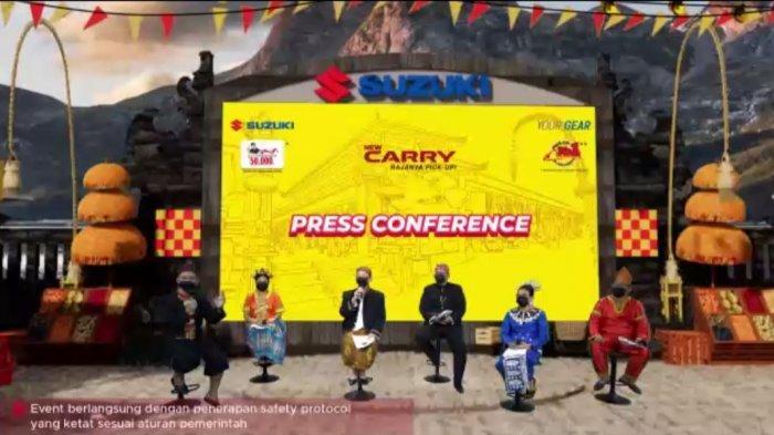 Suzuki Luncurkan Tampilan Terbaru New Carry Pick Up, Dilengkapi APPAR Hingga Irit Bensin