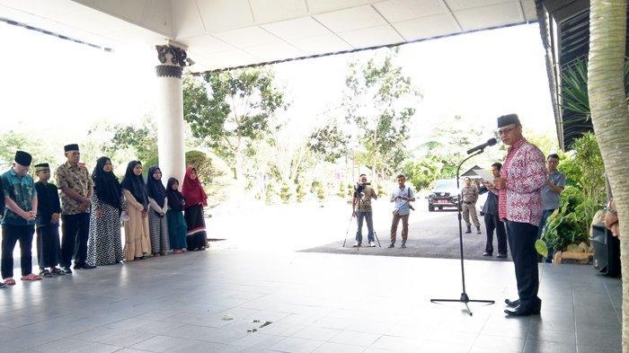 Ini Pesan Wabup Bangka Kepada 15 Kafilah STQ yang Bertanding di Tingkat Provinsi